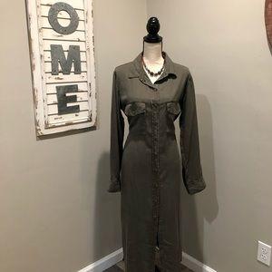 SANCTUARY Green Dress/Duster
